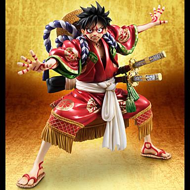 Figuras de Ação Anime Inspirado por One Piece Monkey D. Luffy PVC 18 CM modelo Brinquedos Boneca de Brinquedo