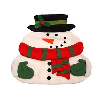 nieuwe Kerstmis de Kerstman placemats snowman mat placemat pads met servet tafel kerst levert decoraties