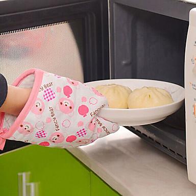 Mitts Luva luvas de forno Torta Bolo Pão Policarbonato Tecido Amiga-do-Ambiente Alta qualidade Ferramenta baking Aderência conveniente
