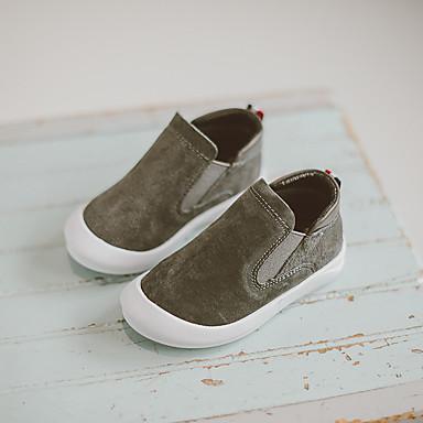 Poikien kengät Mokkanahka Comfort Mokkasiinit Käyttötarkoitus Kausaliteetti Musta Harmaa Punainen