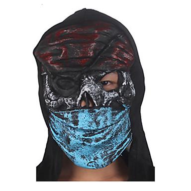 (Padrão é aleatório) 1pc hallowmas horror máscara de fantasma decorar hallowmas festa à fantasia