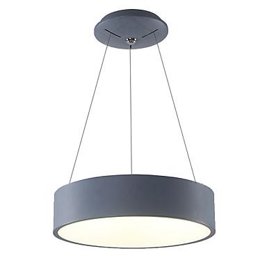 Tambor Lámparas Colgantes Luz Ambiente - Mini Estilo, LED, 110-120V / 220-240V, Blanco Cálido / Blanco, Fuente de luz LED incluida