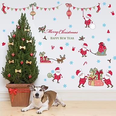 Calcomanías Decorativas de Pared - Calcomanías de Aviones para Pared / Adhesivos de Pared Espejo De moda / Navidad / Día Festivo Comedor