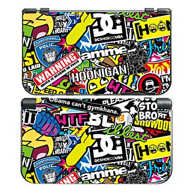 B-SKIN NEW3DSLL USB Vesker, Etuier og Dekker Klistremerke - Nintendo New 3DS LL (XL) Originale Trådløs #