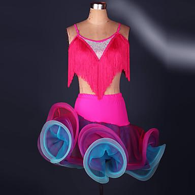 Flere Kostymer Cosplay Kostumer Karneval Festival / høytid Halloween-kostymer Gul Rød Grønn Blå Blonder
