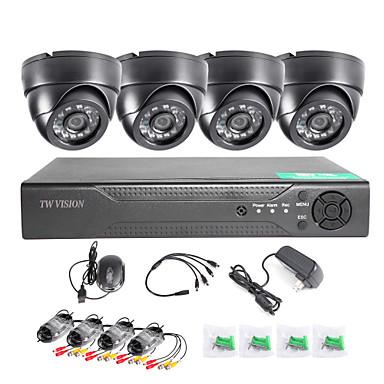 twvision®8ch hdmi 960h cctv dvrビデオ監視レコーダー1000tvlドームカメラcctvシステム