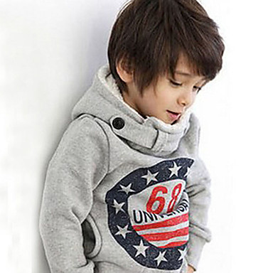 e5976ae04720 Toddler Boys' Casual Daily Galaxy Long Sleeve Regular Hoodie & Sweatshirt  Gray