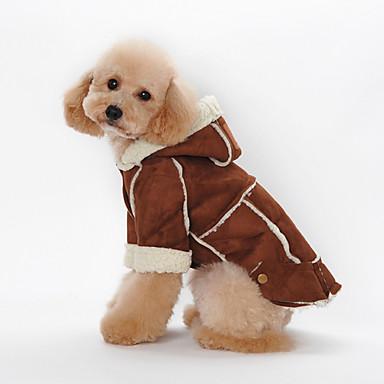 犬 ジャンプスーツ 犬用ウェア ファッション スポーツ カラーブロック Brown レッド カーキ色 コスチューム ペット用