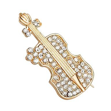 Broches - Cristal Fashion Broche Dourado Para Casamento / Festa / Diário