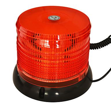 Jiawen 6,3 polegadas ímã para atrair luz estroboscópica LED âmbar de flash aviso luz dc 12v luz de emergência à prova de água