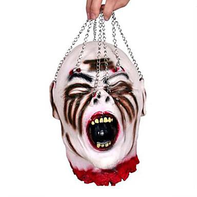 1PC cabeça cranial bola halloween coração pessoa para a decoração do partido