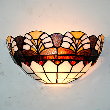 CXYlight Tiffany / Rustikk / Hytte / Traditionel / Klassisk Vegglamper Metall Vegglampe 110-120V / 220-240V 60W / E26 / E27