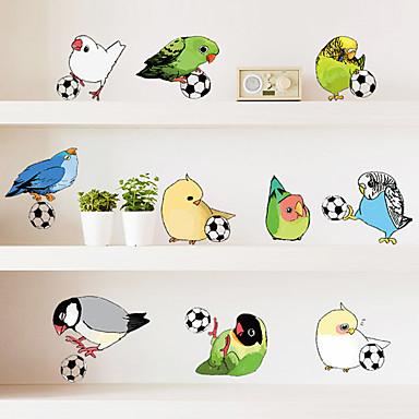Dekorative Wand Sticker - Tier Wandaufkleber Tiere / Mode / Freizeit Wohnzimmer / Schlafzimmer / Studierzimmer / Büro / Abziehbar