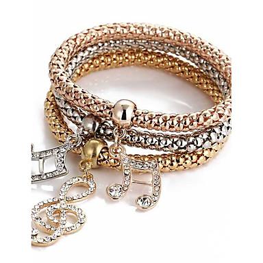 Herre Dame Vedhend Armband - Gylden Armbånd Til Julegaver Daglig Avslappet