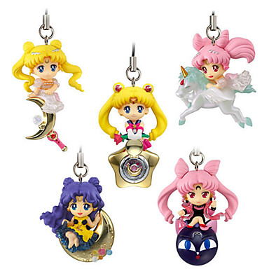 Anime Action Figurer Inspirert av Sailor Moon Princess Serenity PVC 5cm CM Modell Leker Dukke