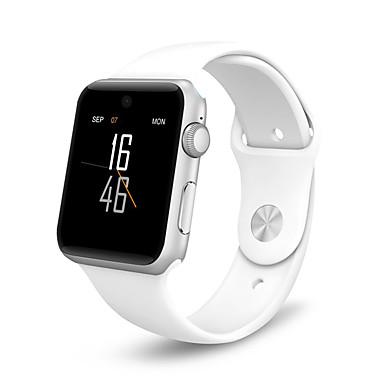 Reloj elegante para iOS / Android Calorías Quemadas / Llamadas con Manos Libres / Cámara / Distancia de Monitoreo / Podómetros Seguimiento del Sueño / Recordatorio sedentaria / Encontrar Mi / 2 MP