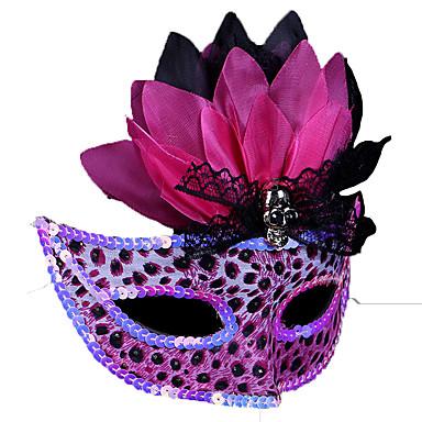 máscara de leopardo 1pc para a festa de traje de Halloween