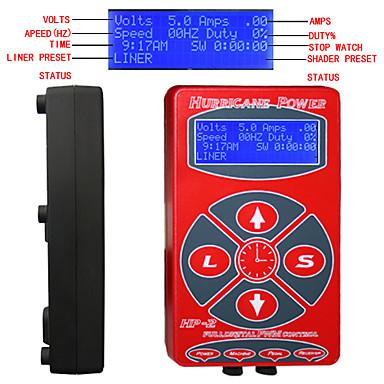LCD 1.2 stekker professioneel elektrisch Voetschakelaar Digital Tattoo