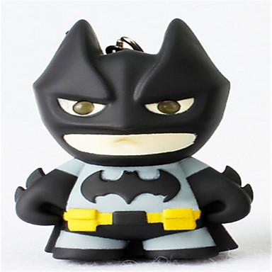 BS  -  609第二世代バットマンは、キーチェーンの創造的なギフトのペンダントに漫画の懐中電灯を主導しました