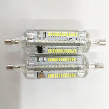 4 W 200-300 lm R7S LED-maïslampen T 104 LED-kralen SMD 3014 Decoratief Warm wit / Koel wit 220-240 V / 2 stuks