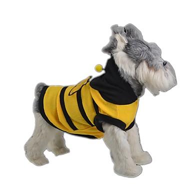ネコ 犬 コスチューム 犬用ウェア キュート コスプレ 動物 イエロー コスチューム ペット用
