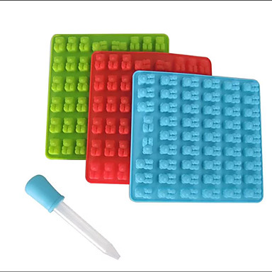 Bakeware verktøy Silikon GDS Kreativ Kjøkken Gadget 3D For Godteri Is Sjokolade Til Småkake Cake Moulds
