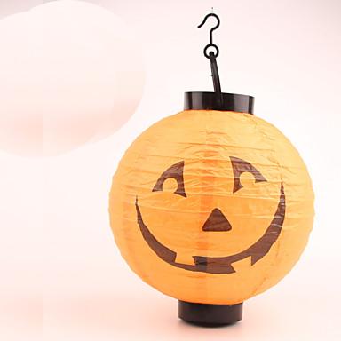 1kpl valoisa paperilyhtyjen halloween puku osapuoli