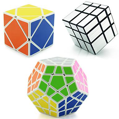 Rubik's Cube shenshou Alienígeno MegaMinx Skewb Mirror Cube Skewb Cube 3*3*3 Cubo Macio de Velocidade Cubos mágicos Cubo Mágico Nível