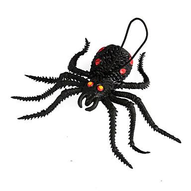 1pc ontwerp is willekeurig halloween partij decor geschenk nieuwigheid terroristische ornamenten die truc speelgoed spider