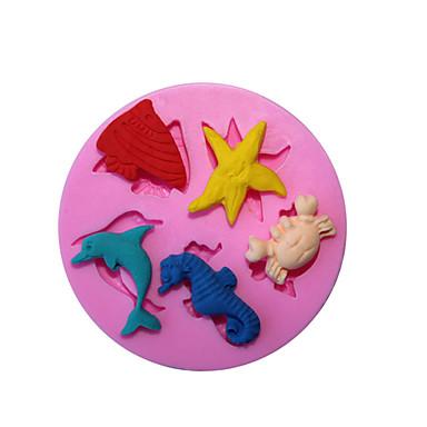 1 Bakken Anti-aanbak / Milieuvriendelijk / Doe-het-zelf / Baking Tool / 3D / Hoge kwaliteitKoekje / Cupcake / Taart / Pizza / Chocolade /