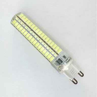 600-700lm G9 / G4 / BA15d LED-kornpærer T 136LED LED perler SMD 5730 Dekorativ Varm hvit / Kjølig hvit 85-265V