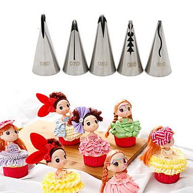 Díszítő eszköz Cupcake Torta Rozsdamentes acél Jó minőség