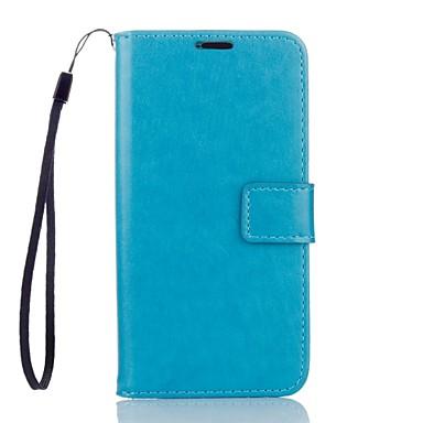 Capinha Para Motorola Capinha Motorola Porta-Cartão Carteira Com Suporte Capa Proteção Completa Côr Sólida Rígida PU Leather para Moto G4