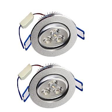 YouOKLight 280lm 3 LEDs Encaixe Decorativa Downlight de LED Branco Quente Branco Frio AC 110-130V AC 100-240V AC 220-240V AC 85-265V