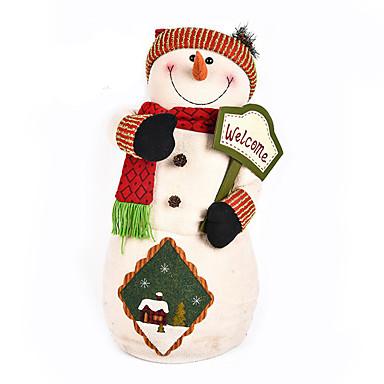 ホリデー・デコレーション クリスマスデコレーション おもちゃ 雪だるま 調度品 男の子 女の子 小品