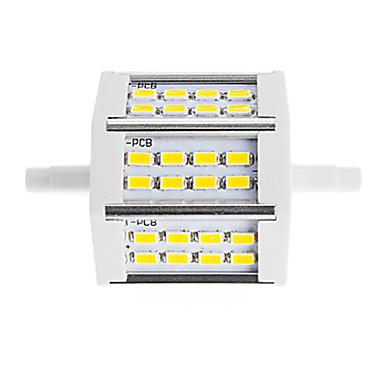 450lm R7S LED-lyskastere Tube 24 LED perler SMD 5730 Dekorativ Varm hvit Kjølig hvit 85-265V 220-240V