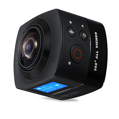 SY15SPC Action Kamera / Sportskamera 16MP 4608 x 3456 WIFI / Vanntett / Trådløs 30fps Nei ± 2EV 1.4 CMOS 32 GB H.264 Enkelt bilde 60 M