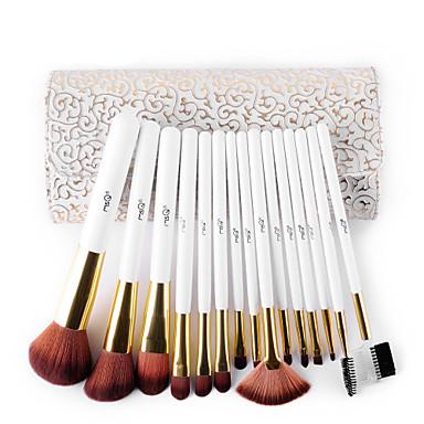 15pcs Professional Makeup Bürsten Bürsten-Satz- Borstenpinsel / Nylon Pinsel / Kunstfaser Pinsel Professionell / Antibakteriell /