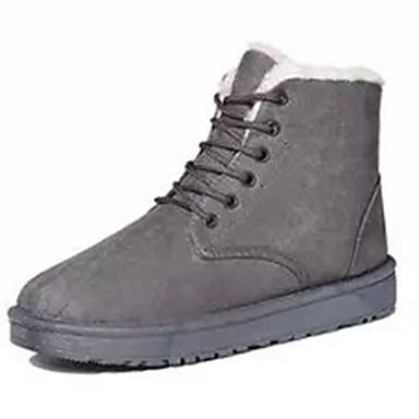 Bootsit-Tasapohja-Naisten-Turkis-Musta Punainen Harmaa Beesi-Ulkoilu Rento-Comfort