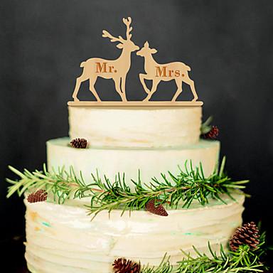 誕生日 ウェディングパーティー ウッド 混合材 結婚式の装飾 クラシックテーマ 冬 春 夏 秋 オールシーズン