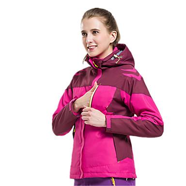 Naisten Vaellustakki Vedenkestävä Pidä lämpimänä Tuulenkestävä Hyönteisiä hylkivä Hengittävä Tuulitakit Softshell-takit Topit varten