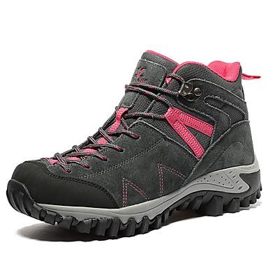 Mujer Zapatos Ante Primavera / Verano / Otoño Confort Zapatillas de Atletismo Senderismo / Running en Pista Gris / Morado