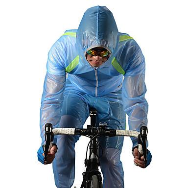 ROCKBROS Per uomo / Per donna / Unisex Giacca da ciclismo Bicicletta Giacca di pelle / T-shirt / Felpa Antivento, Ompermeabile, Traspirante Classico, Di tendenza Poliestere Inverno Bianco / Verde