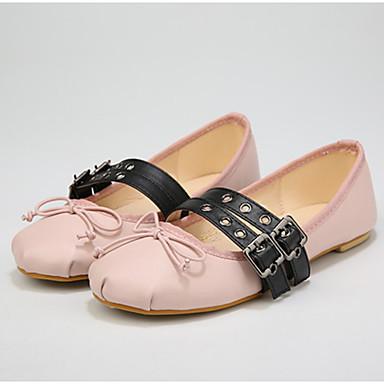 Dame-KunstlærOthers-Flate sko-Friluft-Svart / Rosa