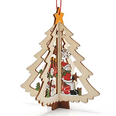 3kpl xmas lahja kattaukseen puu joulu lumiukko ornamentti X'mas joulu lumiukko sisustustavarat
