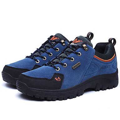 Dame-PU-Flat hæl-Komfort-Sportssko-Fritid-Blå Brun Grønn Rød