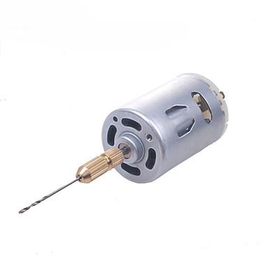 krabbe rike modellverktøy hånd drill mini drill DIY drill kjedelig verktøy 545 drill sett (uten strømadapter)