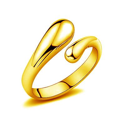 Naisten Kultainen Sormus - Riippua Hopea Kultainen Rengas Käyttötarkoitus Häät Party Päivittäin Kausaliteetti