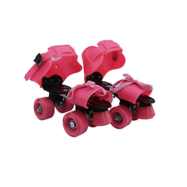 子供用 成人 ローラースケート アンチスリップ 耐久性 調整可能 イエロー/レッド/ブルー/ピンク