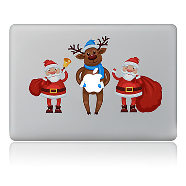 1枚 スキンシール のために 傷防止 クリスマス パターン PVC MacBook Pro 15'' with Retina MacBook Proの15 '' MacBook Pro 13'' with Retina MacBook Proの13 '' MacBook